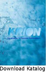 Katalog Krion Eissauna, Eiskammer, Kryosauna